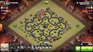 Clash of clans Spartan Lore vs Sooners!