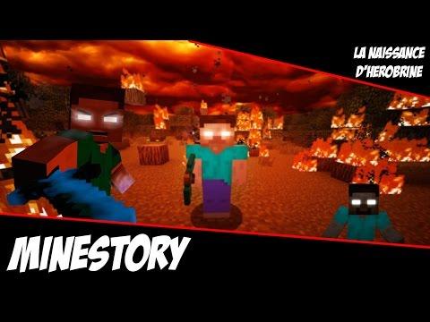 MineStory#0 : La Naissance de Herobrine / sketch Minecraft
