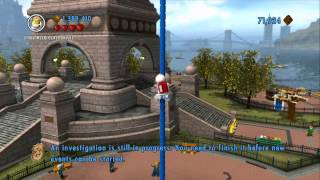 LEGO City Undercover - Red Brick Guide - All Red Brick Locations