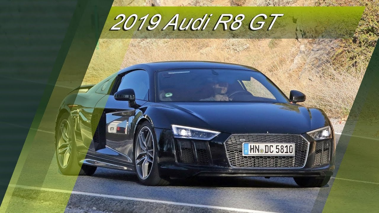 all-new 2019 audi r8 gt prototype    probably