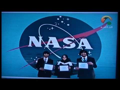 Sharjah TV: NASA UAE Intern Interview (Arabic)
