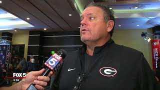 UGA Offensive Line Coach on Pace Academy's Andrew Thomas