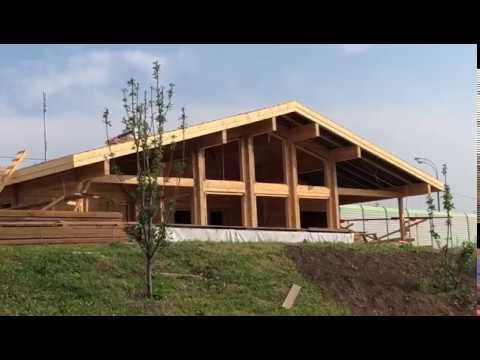 3. Видео со стройки в Завидном – проект Шале