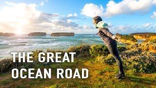 012 Exploring the Great Ocean Road in a van