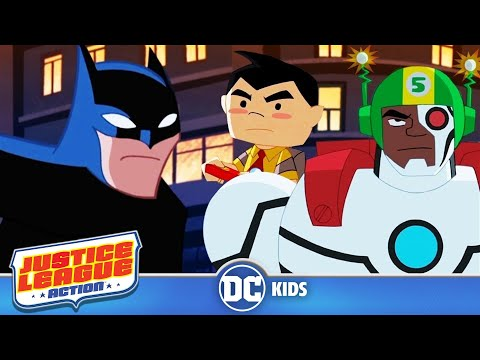 Justice League Action in Italiano | Toyman a mano | Episodio 11
