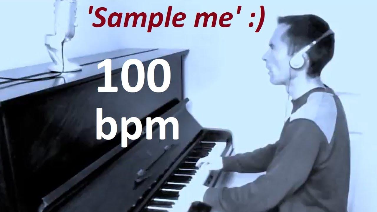 Piano Samples For Lofi Hip Hop Beats & Instrumentals - 100 BPM