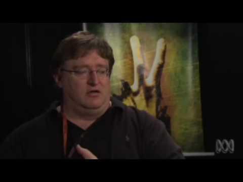 Gabe Newell on Good Game
