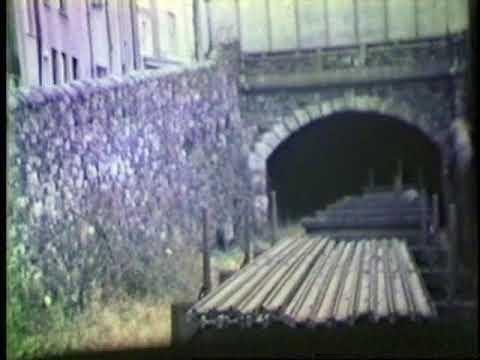 Demolition Train At Caernarfon