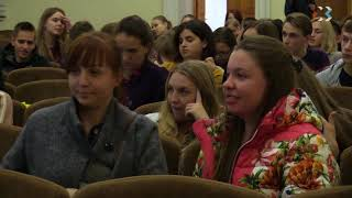 В СевГу показали документальный фильм «Вода России»
