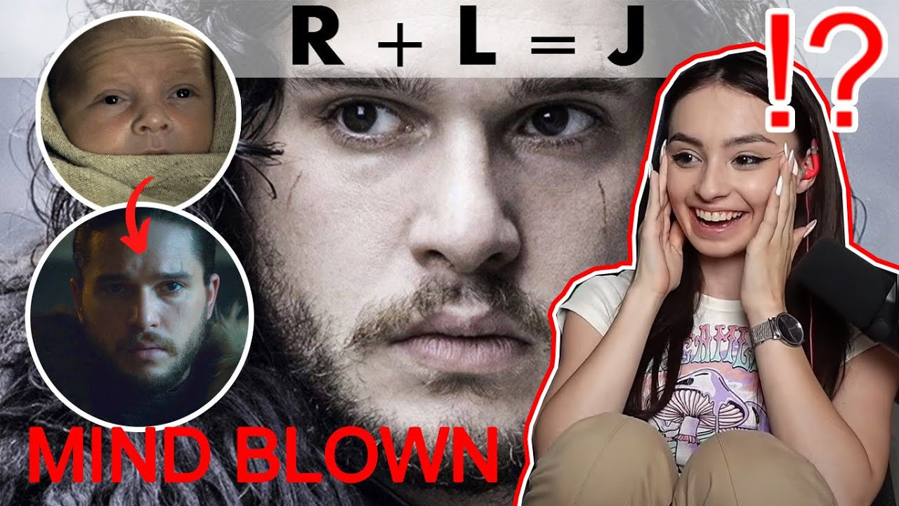 Game of Thrones: R+L=J: Who is Jon's Mother REACTION