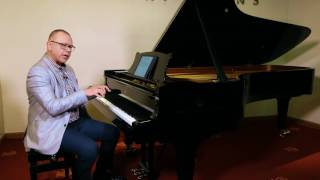 Piano lesson on wrist movement (part 1)