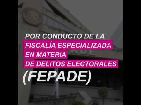 Fepade envía personal a Puebla por supuestas actas falsasиз YouTube · Длительность: 44 с