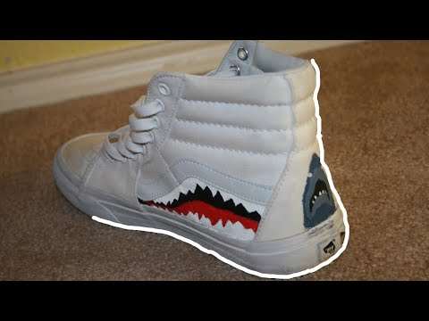 f022f47215d2cf Hightop Vans Custom Part 1 - YouTube