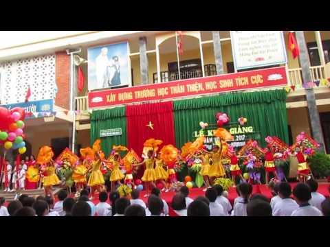 Múa Ước mơ ngày khai trường - Trường tiểu học Hưng Dũng 2