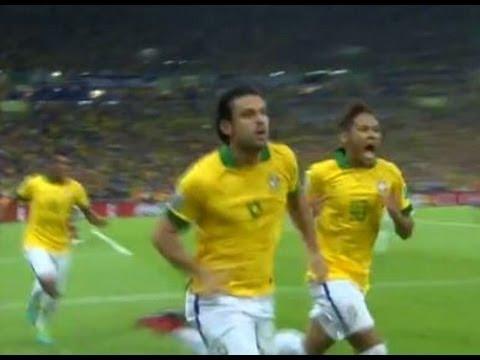 9ff897a7eb BRASIL 3 x 0 ESPANHA GOL DE FRED BRASILEIRO COPA DAS CONFEDERAÇÕES  30 06 2013