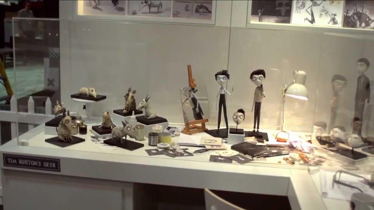Frankenweenie Stop Motion Puppets Featurette 2013 Tim Burton Youtube