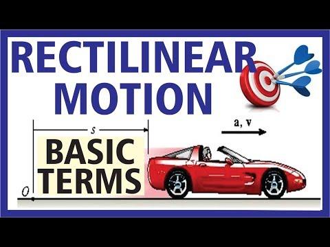 (Hindi) Rectilinear Motion - Basic Terms...