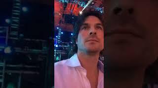 Ian Somerhalder New Video -XQ Super School Live