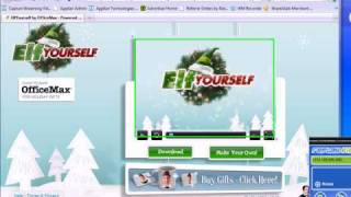 Screen Recorder - How To Record/Save/Capture/Download the Elf-Yourself Videos