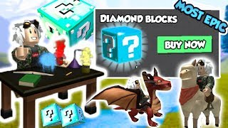 OPENING DIAMOND BOXES! - Lucky Blocks ? ROBLOX [KraoESP]