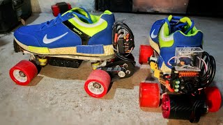 How to make electric roller shoes