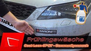 Seat Leon 5F ST Autowäsche Waschroutine Community Wunsch Alta Foam Auto richtig waschen