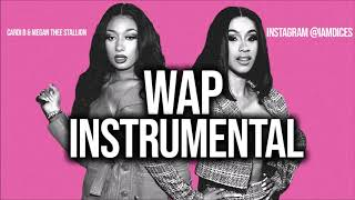 "Cardi B & Megan Thee Stallion ""WAP"" Instrumental Prod. by Dices *FREE DL*"