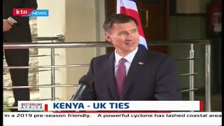 Kenya-UK ties: British Foreign Secretary Jeremy Hunt, CS Juma joint  address