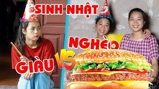 Sinh Nhật Nhà Giàu ❤ Sinh Nhật Nhà Nghèo - Trang Vlog