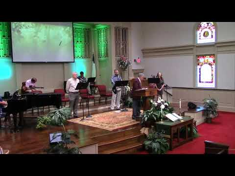 July 19, 2020 Service at First Baptist Thomson, Streaming License 201531172