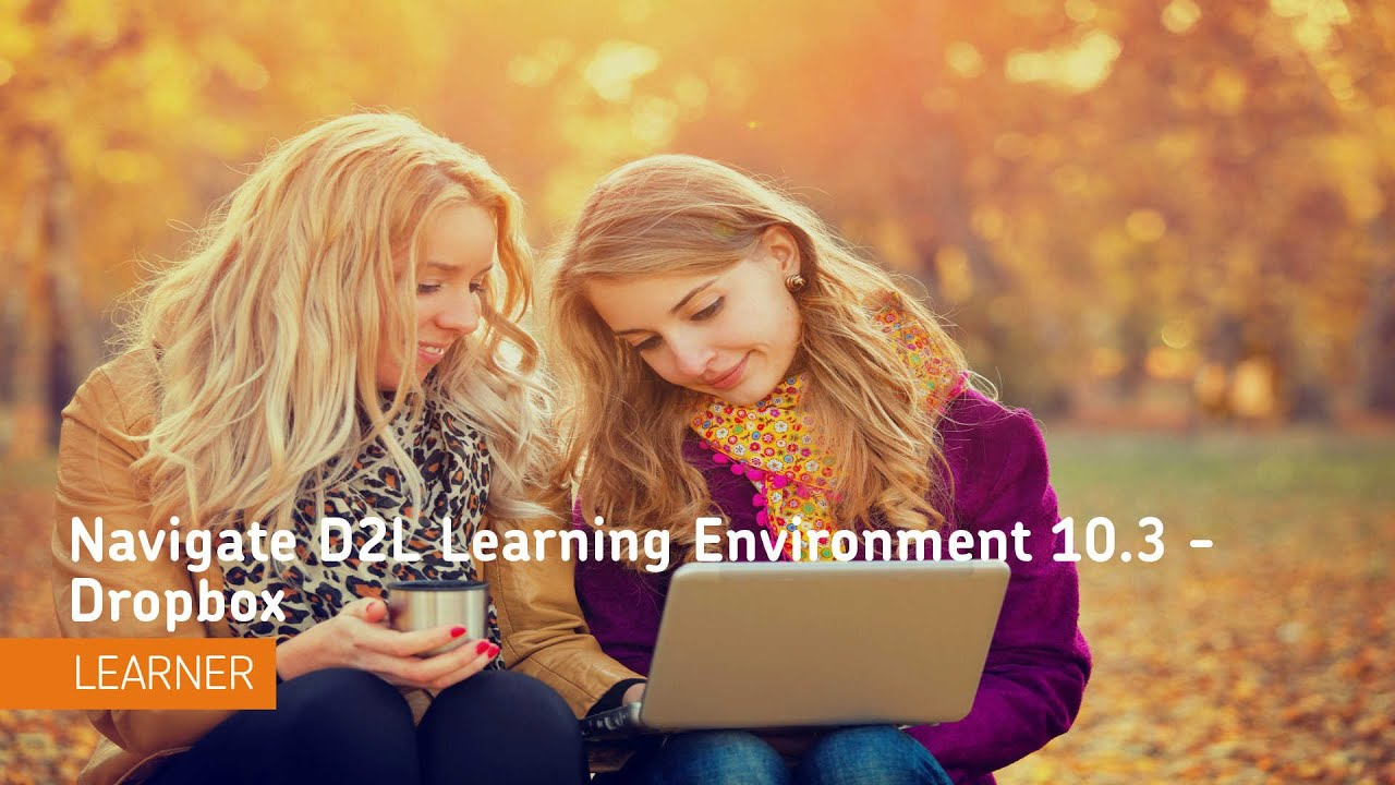 how to create a dropbox in d2l