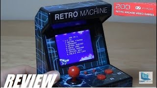 REVIEW: Mini Retro Arcade Machine (DreamGEAR)
