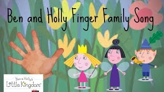 Ben and Holly Finger Family Song Nursery Rhyme (Daddy Finger)  Nanny Plum Nick Jr Milkshake