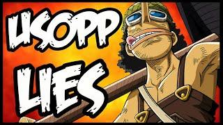 Usopp's Lies & Oda's Foresha