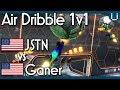JSTN vs Ganer | Air Dribble Only 1v1