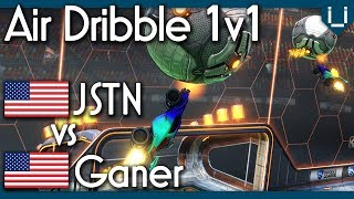 JSTN vs Ganer | Air Dribble Only 1v1