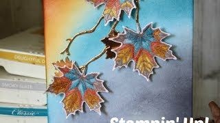 Stampin' Up! Colourful Seasons, 🍃 Leaf Challenge Card #CI10 with Esther Stampin Star Creations