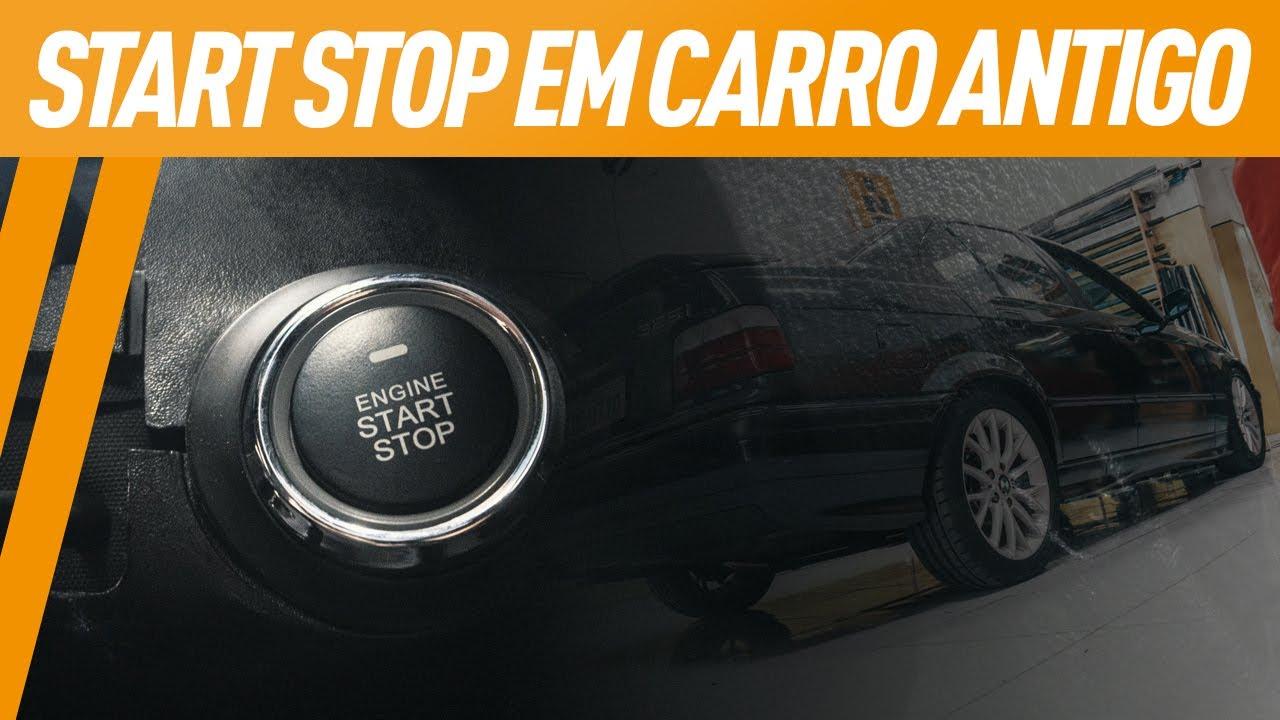 TECNOLOGIA EM CARRO ANTIGO! START STOP NA NOVA PALIO PODRE | VLOG 50