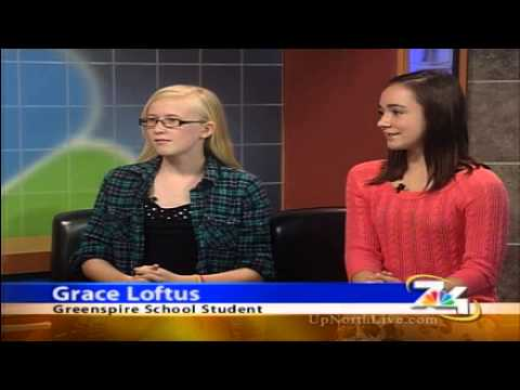 Students from The Greenspire School discuss how they combat bullying