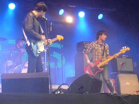 The Cribs - We Were Aborted [live @ Get Loaded In The Park, London 12-06-11]