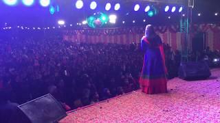 चारधाम महोत्सव में छाया लोकगायिका माया उपाध्याय की आवाज का जादू,हजारो की संख्या में लोग पहुंचे