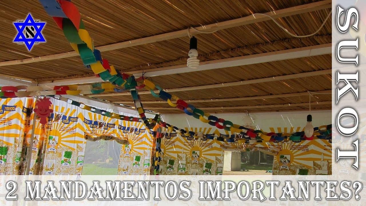 2 Mandamentos da Festa dos Tabernáculos - Sukot - Canal Alef