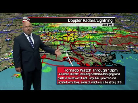 ROB'S WEATHER FORECAST PART 2 530PM, 4/19/2020