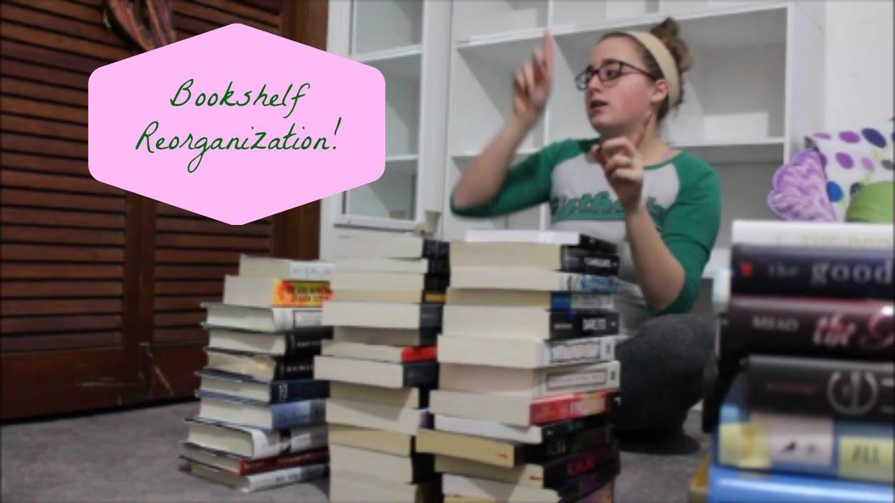 Reorganizing My Bookshelves