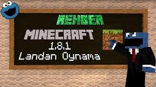 1.8.1 Minecraft Rehber - Multiplayer Lan(Yerel ağ)dan oynama | Hamachili/Hamachisiz