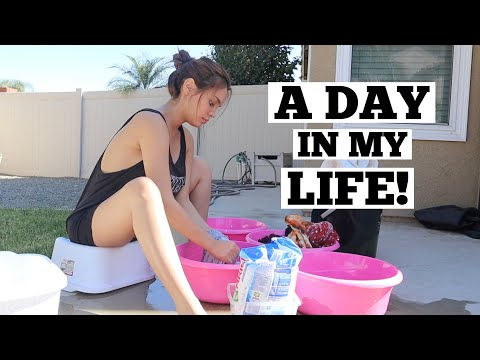 A DAY IN MY LIFE | IVANA ALAWI