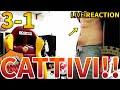 DURI e CATTIVI!!! ROMA-BRAGA 3-1 [LIVE REACTION]