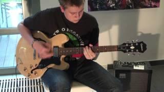 Type O Negaitve - The Profits Of Doom ( Guitar Cover )
