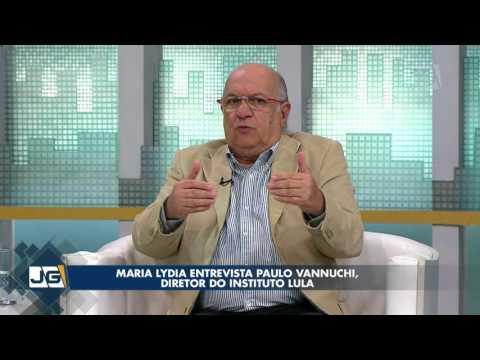 Maria Lydia entrevista Paulo Vannuchi, diretor do Instituto Lula