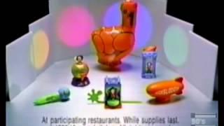 Burger King Nickelodeon Kids Choice Awards Commercial 1999 thumbnail